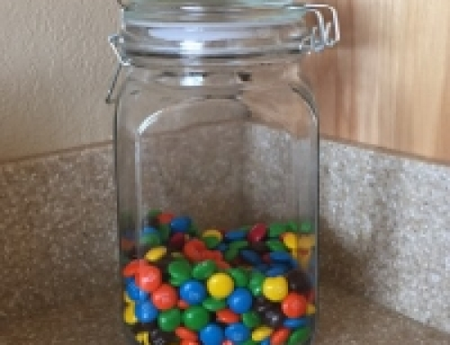 Conquering M&M's (and Premature Advice)