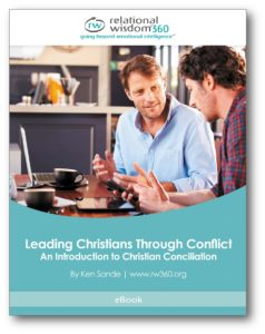 Leading Christians Through Conflict